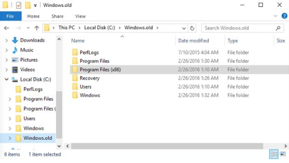 windows 10 to 7 after 30 days